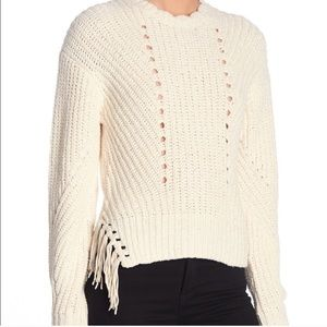 NEW Joie Taelar Tassel Sweater